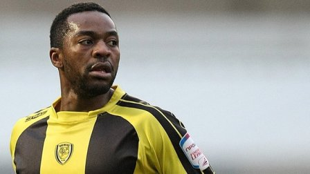 Burton Albion winger Jacques Maghoma.