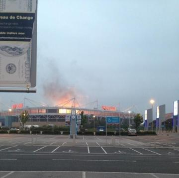 MUSE set The Ricoh Arena alight on Monday, causing panic amongst Twitter users.