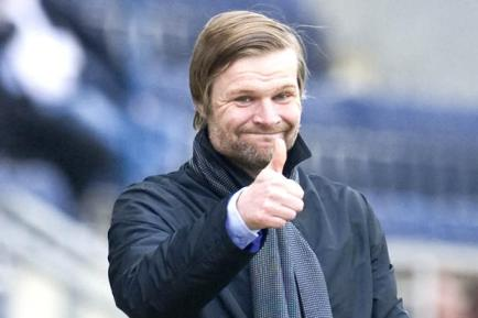 Coventry City manager, Steven Pressley.