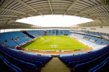 The Ricoh Arena, the home of Coventry City since 2005.