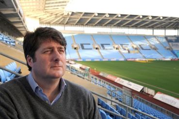 Coventry City Chief Executive Officer, Tim Fisher.