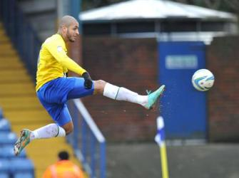 Coventry City striker Leon Clarke.