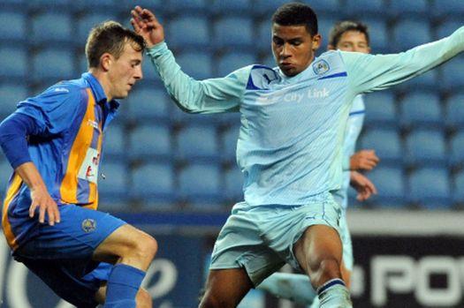 Coventry City's latest academy graduate, Leon Lobjoit.