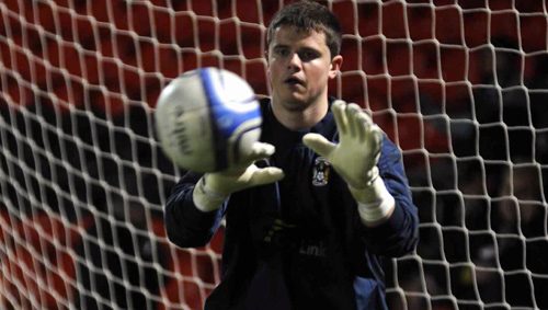 Former Coventry City goalkeeper Michael Quirke has signed for Kettering Town.