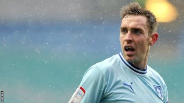 Former Coventry City captain, Richard Keogh.