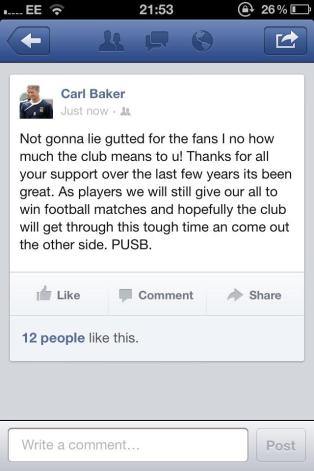 Carl Baker FB