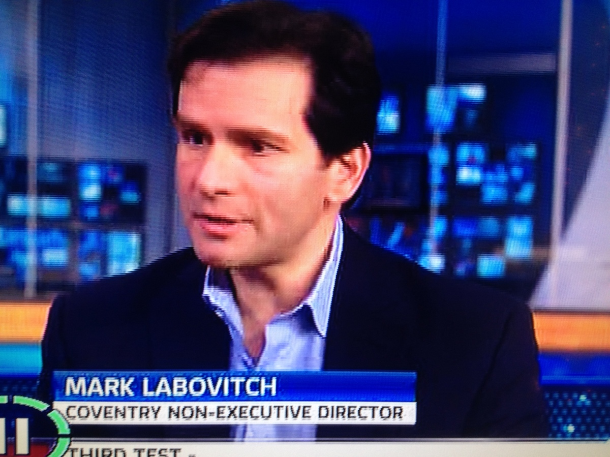 Mark Labovitch Sky Sports News interview transcript.