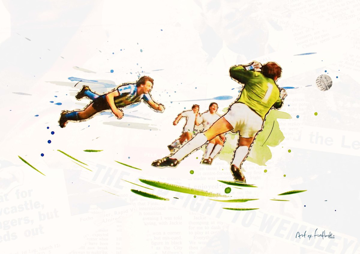 Keith Houchen 1987 FA Cup Final @Art_of_Football competition.