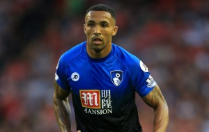 17th August 2015 - Barclays Premier League - Liverpool v Bournemouth - Callum Wilson of Bournemouth - Photo: Simon Stacpoole / Offside.