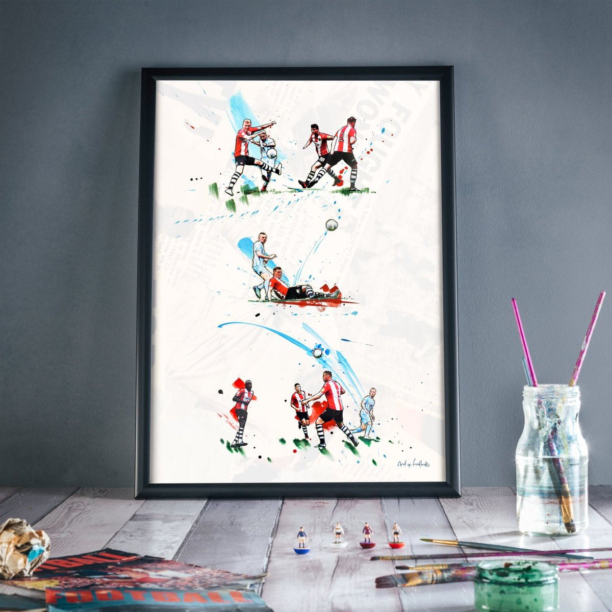 Play Off Final designs released by @Art_of_Football