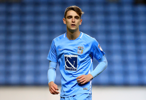 Tom Bayliss signs new four-year contract with Coventry City