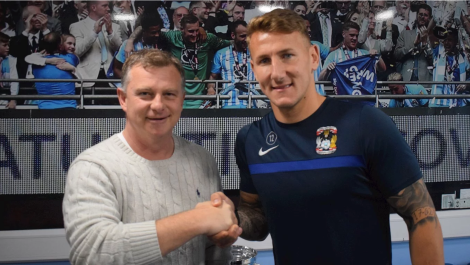 Kyle McFadzean agrees to join CoventryCity