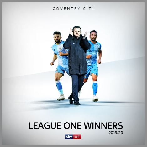 Coventry City crowned League OneChampions